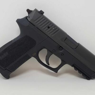 422:   Sig Sauer SP2022 9mm Semi-Auto Pistol Serial Number: 24D025651 Barrel Length