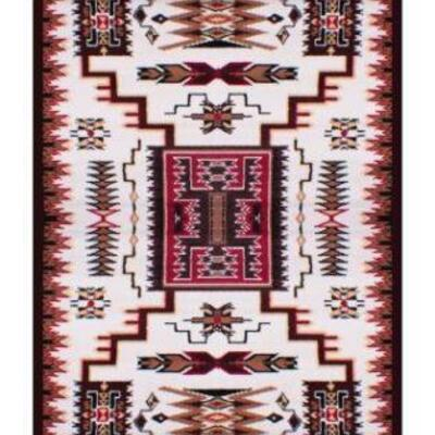 19	  Large Southwest area rug. This rug features a southwestern motif stretching from corner to corner. Large Southwest area rug. This...