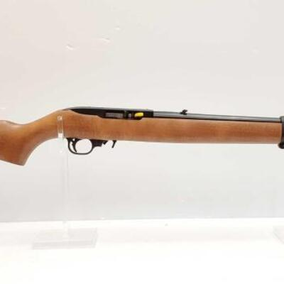 608  Ruger 10/22 .22LR Rifle Serial Number: 0018-54537 Barrel Length: 18.5