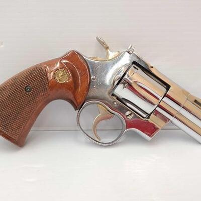 518  Colt Python .357 Magnum Revolver CA OK Serial Number: 32217 Barrel Length: 2.5