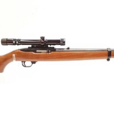 606  Ruger 10/22 Carbine .22 lr Rifle Serial Number: 116-55660 Barrel Length: 18.5
