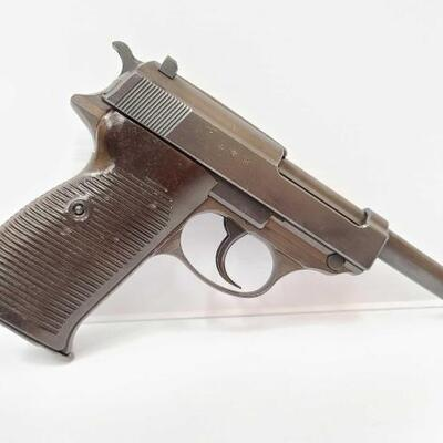 426  Nazi Walther P38 Semi-Auto Pistol CA OK Serial Number: 3707D Barrel Length: 4
