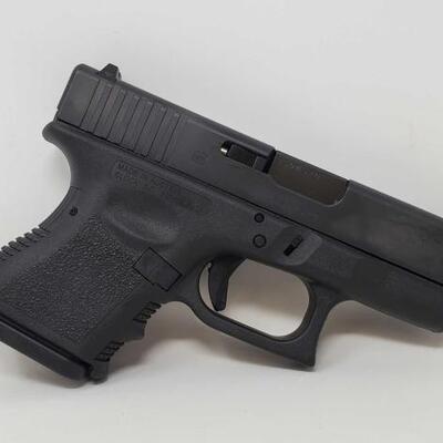 416  Glock 26 9mm Semi-Auto Pistol Serial Number: BSDM520 Barrel Length: 3.5