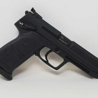 420  Heckler & Koch USP Expert .45 Auto Semi-Auto Pistol Serial Number: 25-163444 Barrel Length- 5