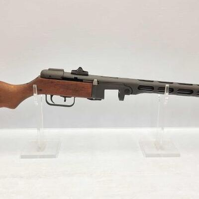 594	  Russian TNW PPSH-41 7.62 x 25mm Semi-Auto Serial Number: 000645 Barrel Length: 16