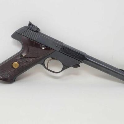 408  Hi-Standard 103 .22lr Semi-Auto Pistol Serial Number: 1104571 Barrrel Length: 7