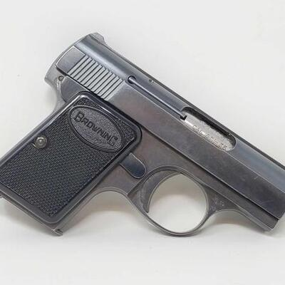 Baby Browning 6mm Semi-Auto Pistol