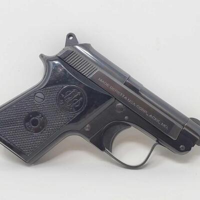 404  Beretta 950 .25 Semi-Auto Pistol Serial Number: BR83440V Barrel Length: 2.5