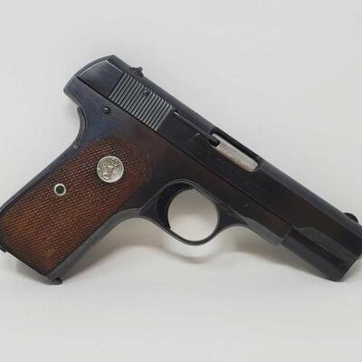 410  Colt 1903 .32 Semi-Auto Pistol Serial Number: 505953 Barrel Length: 4