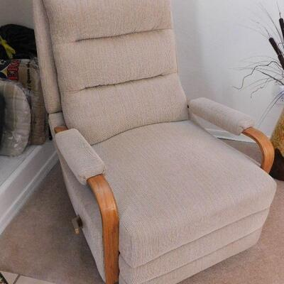 Pair of Teak recliners