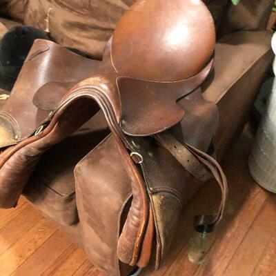 https://www.ebay.com/itm/114780266069WRY5017 Antique Leather Bill Purcell All Purpose SaddleAuction