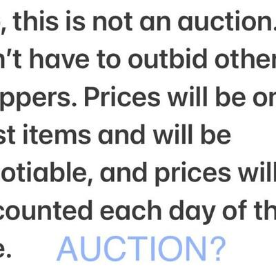 """FAQ: """"Is this an auction where I have to outbid other people?"""""""