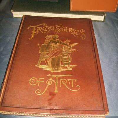 1889 Treasures of Art with Steel Engravings - Complete