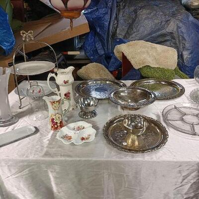 Miscellaneous China and Silverplate