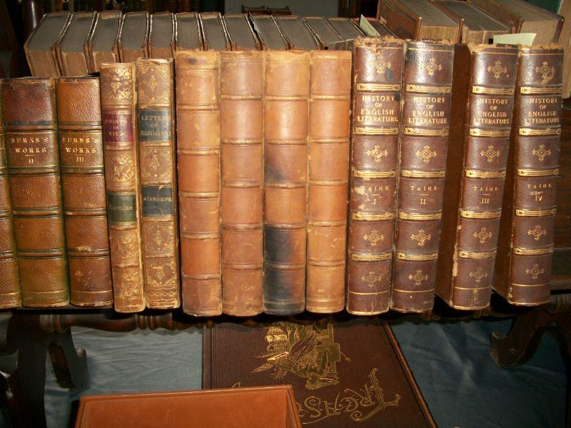 Miscellaneous Leather Bound Books