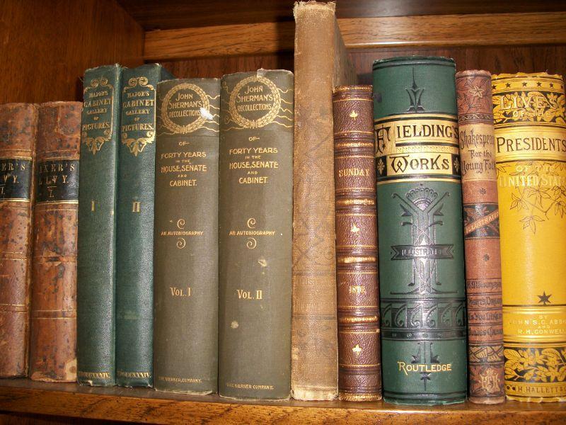 Various 19th Century Books