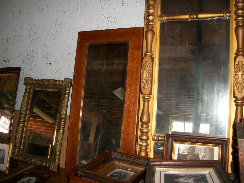 Various large Antique Mirrors