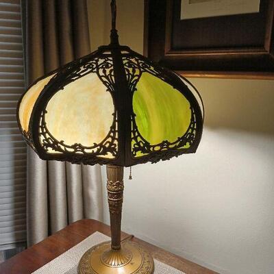 Antique Victorian Lamp
