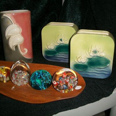 Paperweights & MCM decor
