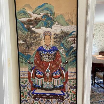 Large Ancestral Asian Portrait