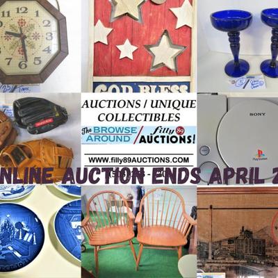 ONLINE AUCTION ENDS APRIL 21, 2021