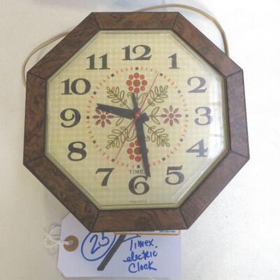VINTAGE TIMEX ELECTRIC CLOCK