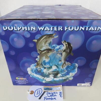 DOLPHIN WATER FOUNTAIN KIT