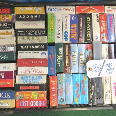 VINTAGE VHS MOVIES