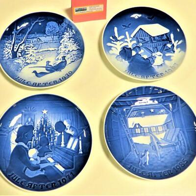 WEST GERMANY BLUE PLATES