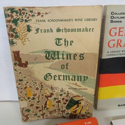 VINTAGE BOOK WINES OF GERMANY