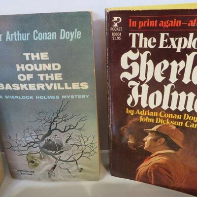 SHERLOCK HOMES BOOK LOT 1970'S