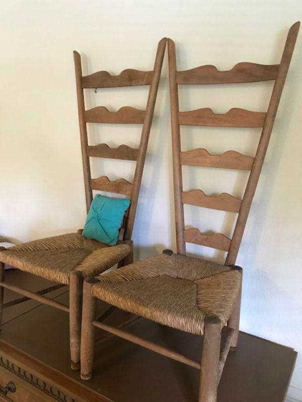 Antique Woven Chairs