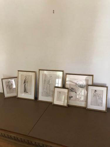 Vintage Female Ink Images