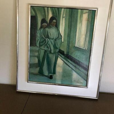 Nuns in Abbey