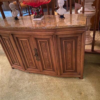 https://www.ebay.com/itm/114779765477CV9003 Mid Century Modern Marble Top Sideboard Buffet Cabinet  -4/30/21 Pickup Only Estate Sale...