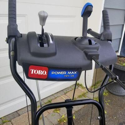 Toro Power Max 724 Snow blower