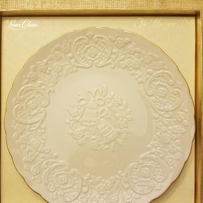 Lenox wedding plate