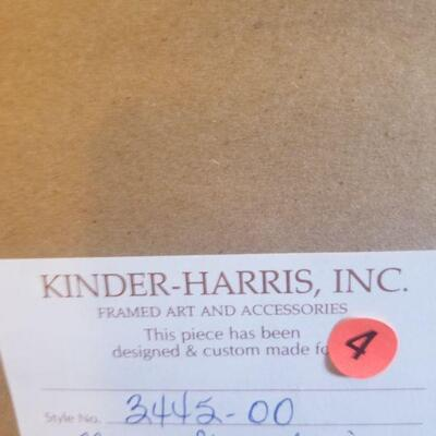 Kinder Harris Neon Geometric Style # description