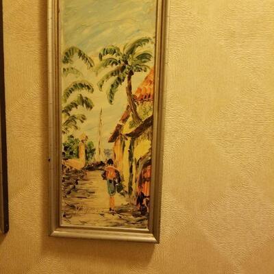 Oil picture- part of a 3 piece set