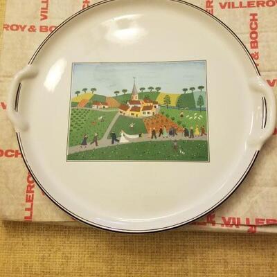 Villeroy & Boch wedding plate