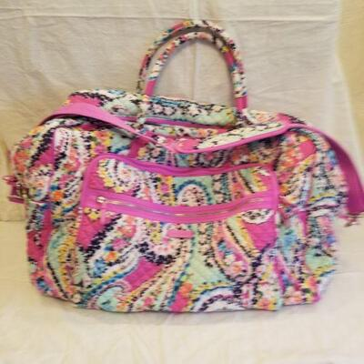 Vera Bradley large carry on tote