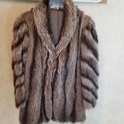 Vintage Racoon jacket