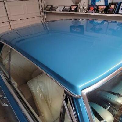 Pontiac GTO Paint job detail