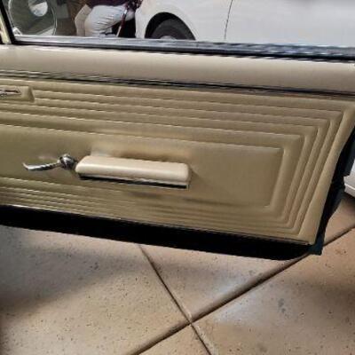 1965 Pontiac GTO leather interior detail