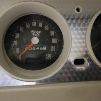 1965 Pontiac GTO mileage detail