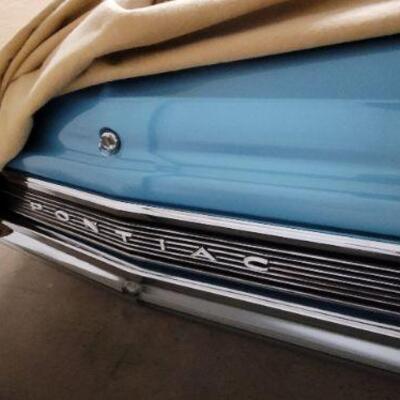 1965 Pontiac GTO trunk detail