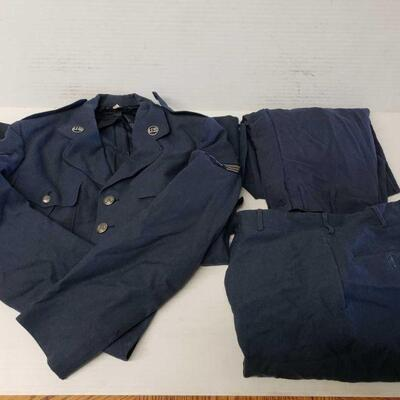 #8310 • Air Force Dress Coat And Two Pairs Of Dress Pants