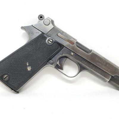 300 MAC 1935S M1 Semi-Auto 7.65m x 20L Pistol Serial Number: 4478 Barrel Length: 4.12