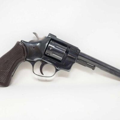 400 Arminus HW7 .22 Magnum Revolver Serial Number: 321318 Barrel Length: 6