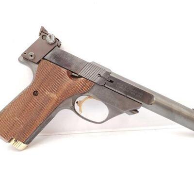 318 High Standard Supermatic Trophy Semi-Auto Pistol Barrel Length: 5.5